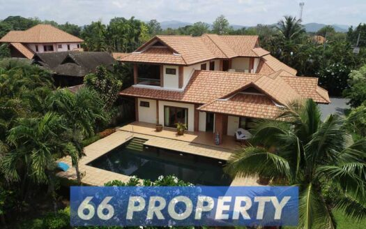 house sale chiang mai, Tuscan Pool Villa for Sale in Chiang Mai.