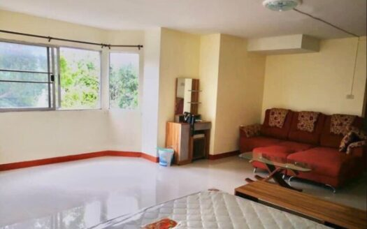 , Spacious Studio Room for Rent at Lanna Condo ,Pa Tan, Chiang Mai