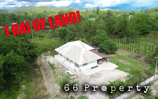 , 3 Bedroom House for Sale on Big Land. Private!