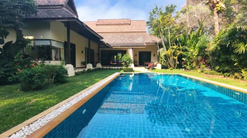 Lanna style house with pool